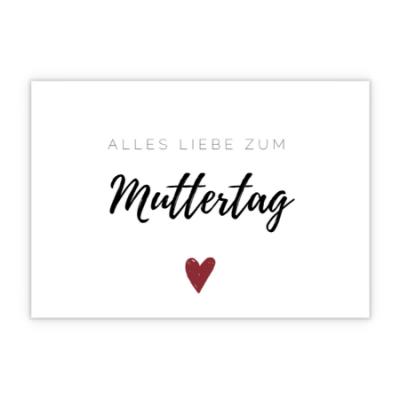 Grußkarte - Alles Gute zum Muttertag