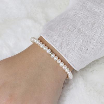 Armband Zuchtperlen 925er Silber oder Silber