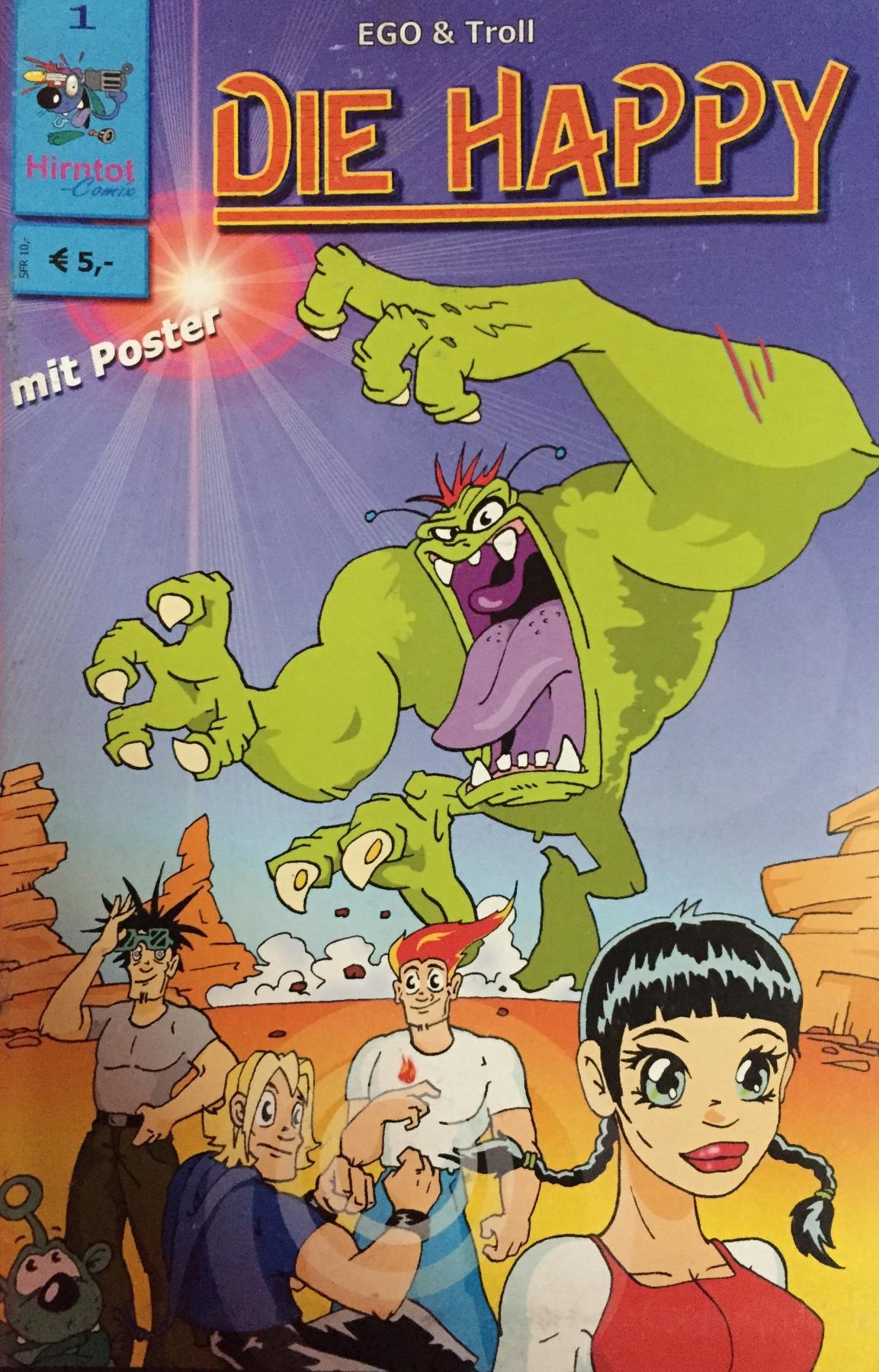 Die Happy Comic - Part 1