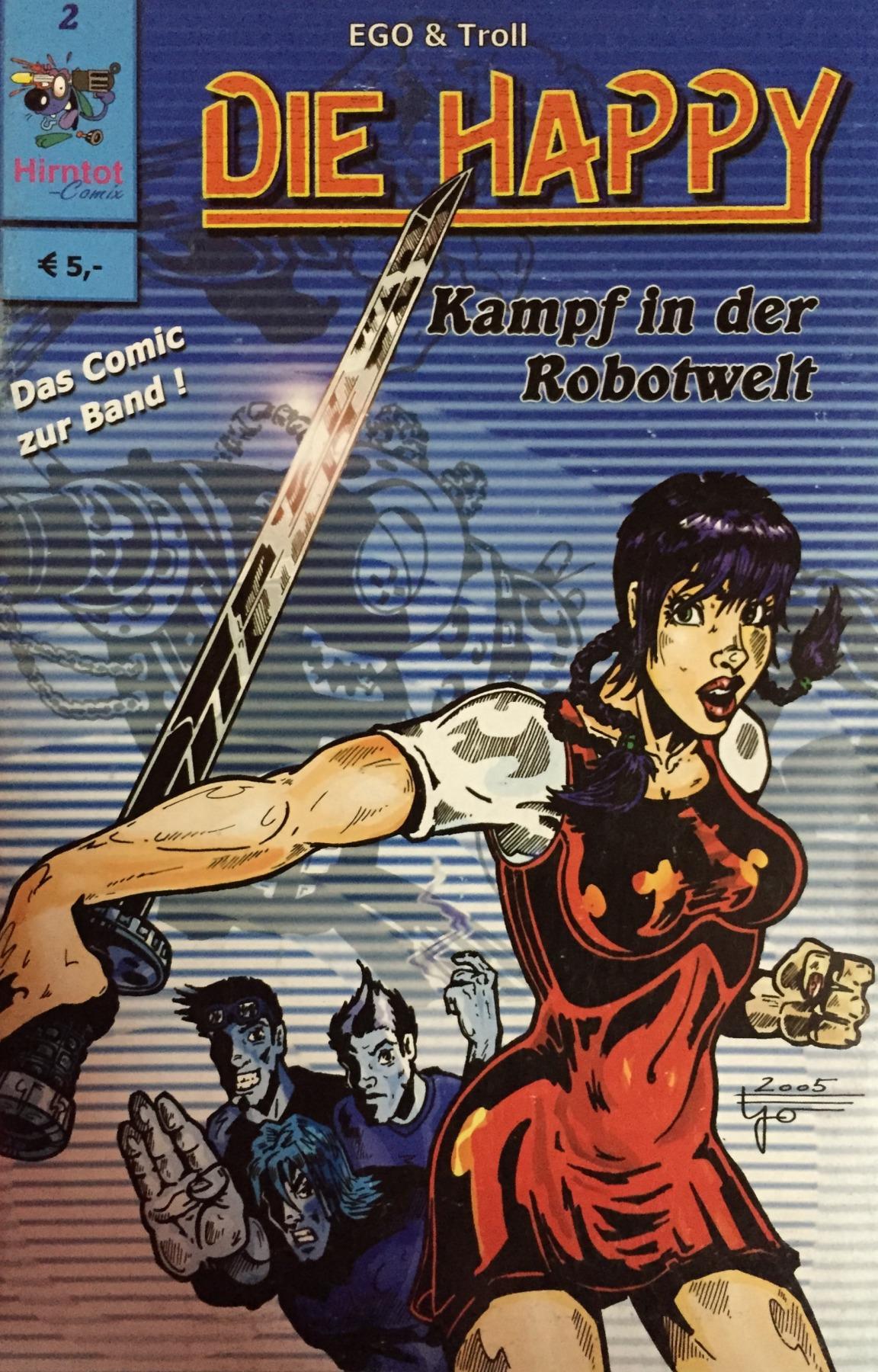 Die Happy Comic - Part 2