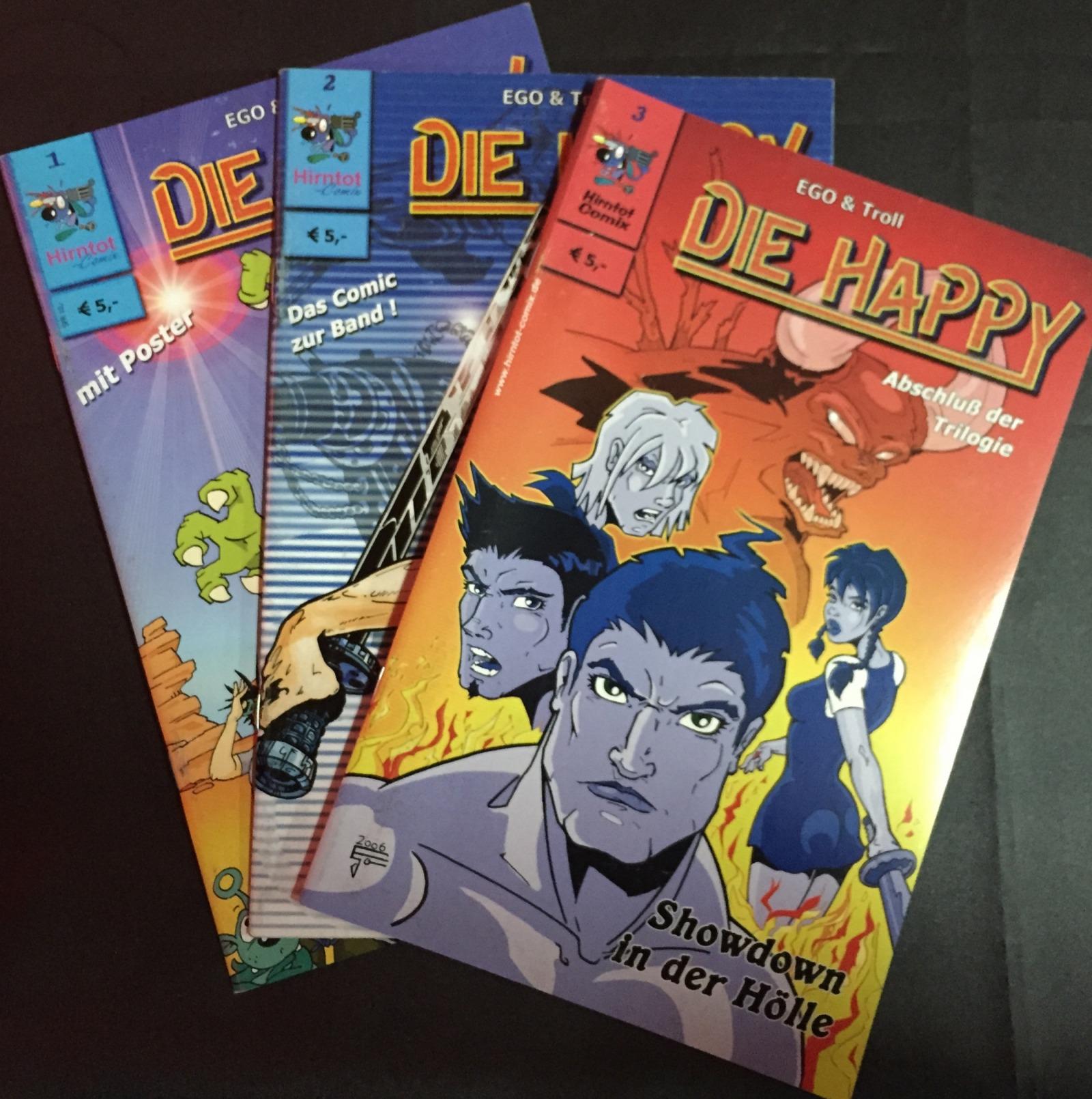 Die Happy Comic - Part 1-3