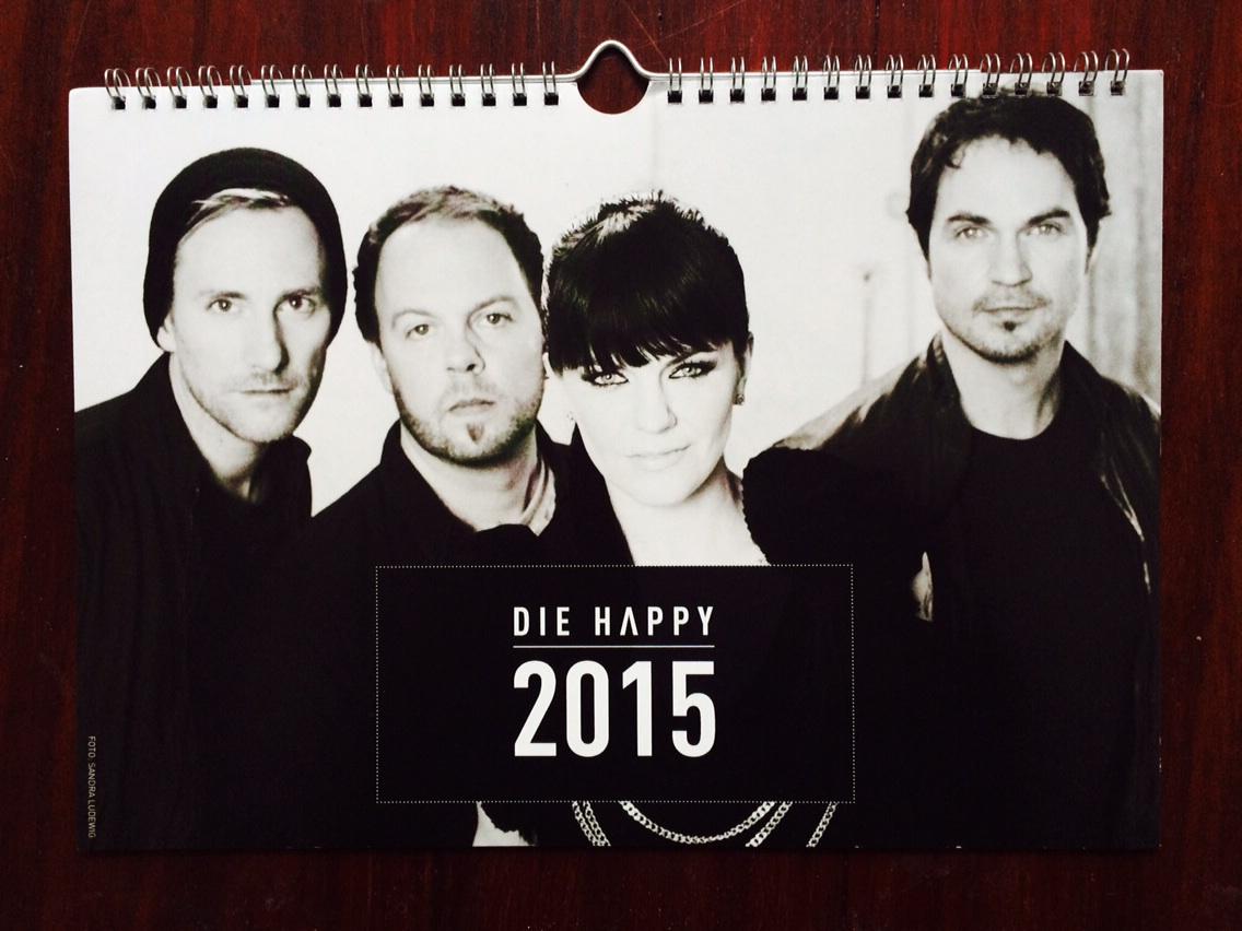 Die Happy Jahreskalender