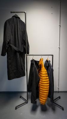 Design Garderobenstange Norbert Garderobe im Industrial