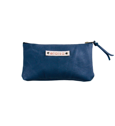 MOKOI - Leatherpouch in Blue