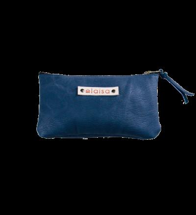 MOKOI - Leatherpouch in Blue