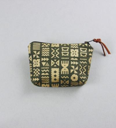 RANI: VAMARASI Print - Handprinted Pouch