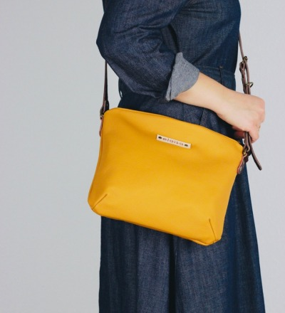 OFA - Purse Bag in Leather//Mustard