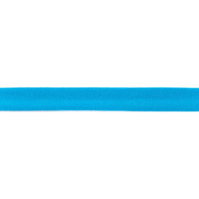 05 m Schrägband Jersey aqua
