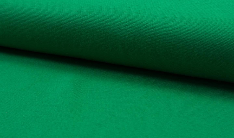 05 m Bündchen Feinripp apfelgrün