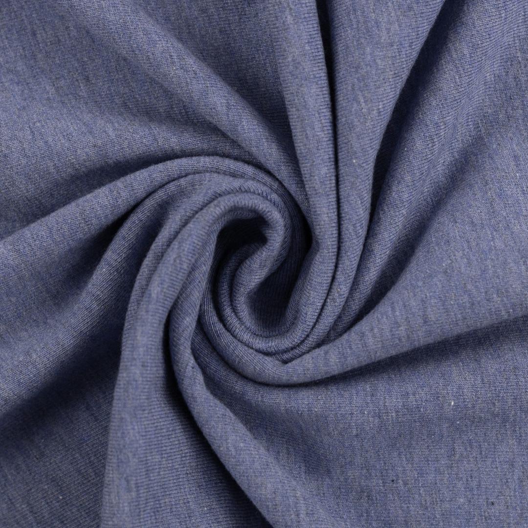 05 m Jersey blau meliert