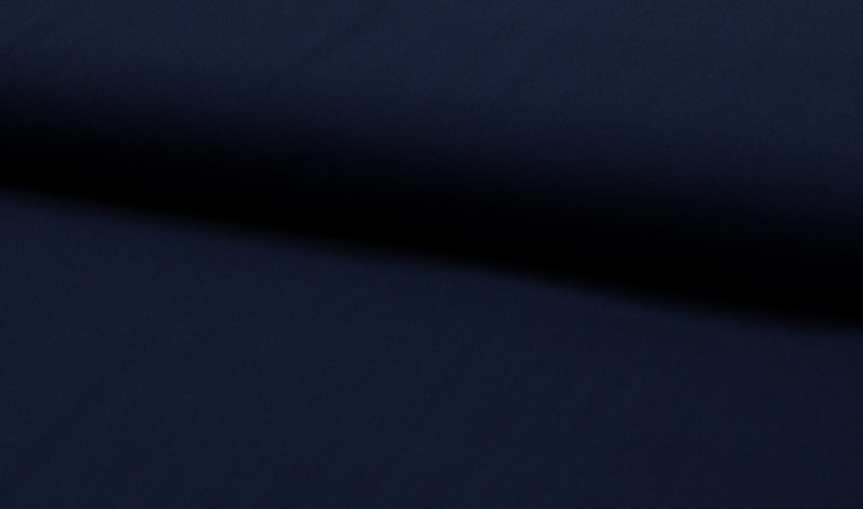 05 m Viskose Webware dunkelblau