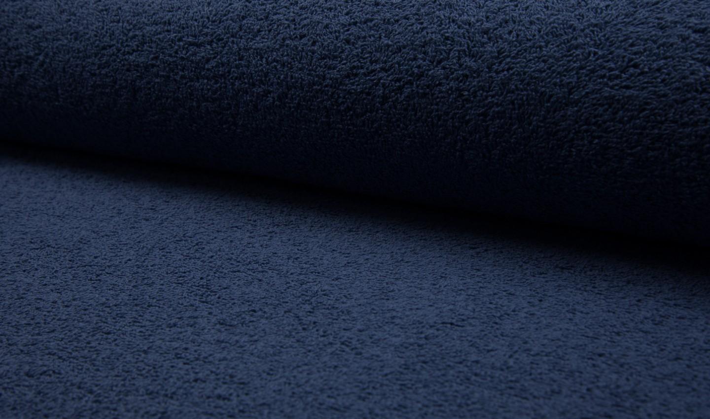 05 m BW Frottee dunkelblau