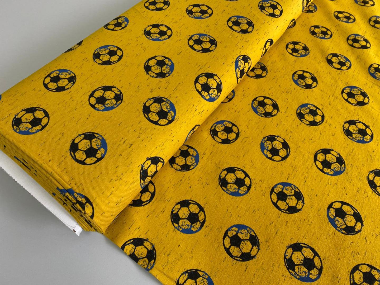 05 m Jersey Fußball auf gelb