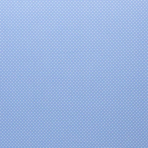 BW Webware kleine Punkte 2mm hellblau