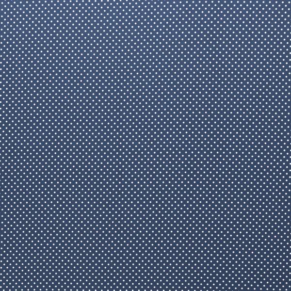 BW Webware kleine Punkte 2mm jeansblau