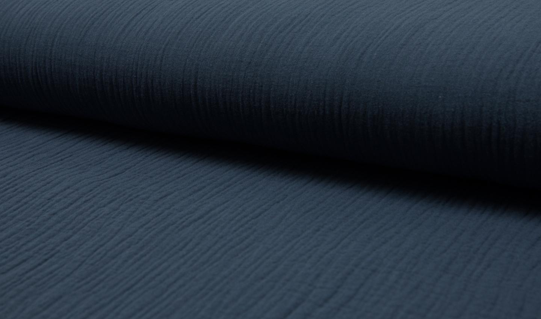 05 m BW Musselin jeansblau