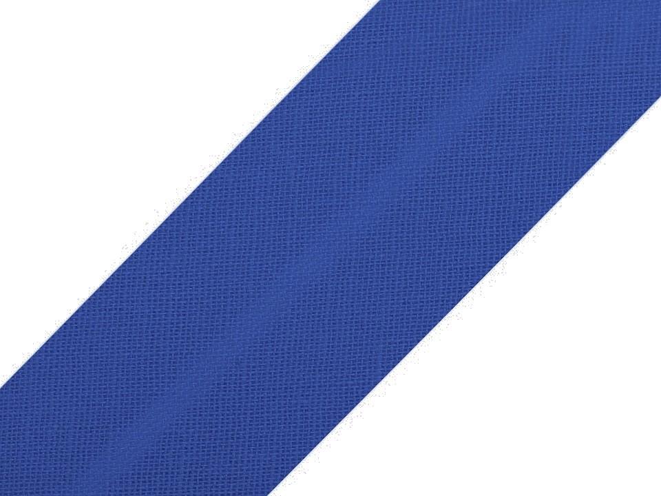 Baumwollschrägband 20 mm königsblau
