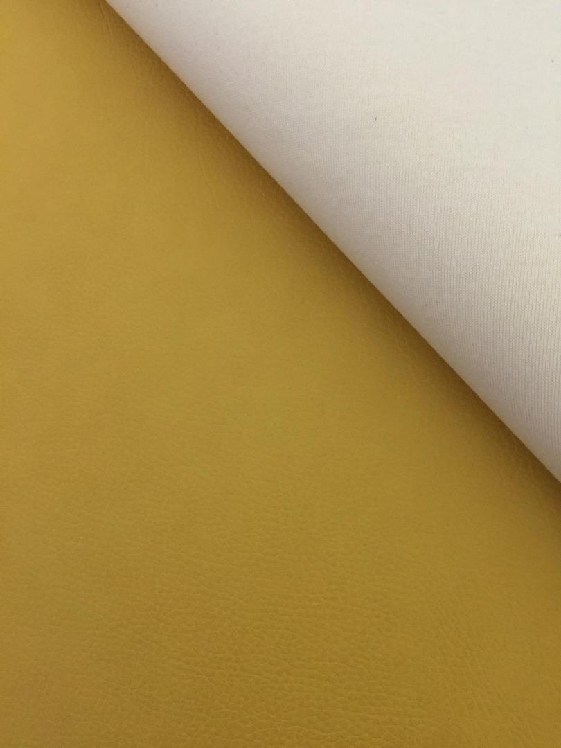 Kunstleder gelb - 2 Größen möglich