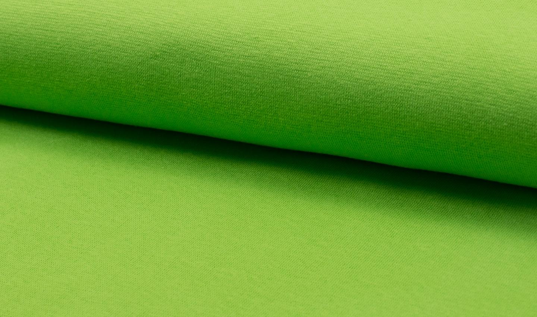 05 m Bündchen Feinripp lindgrün
