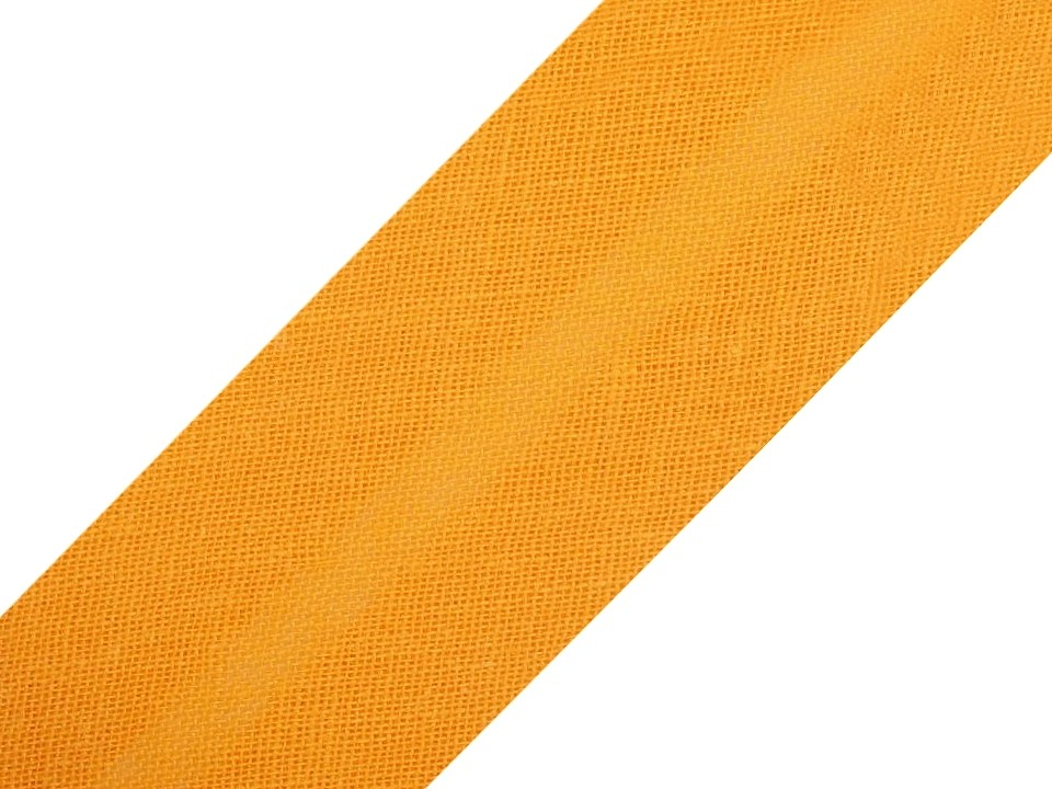 Baumwollschrägband 20 mm orange