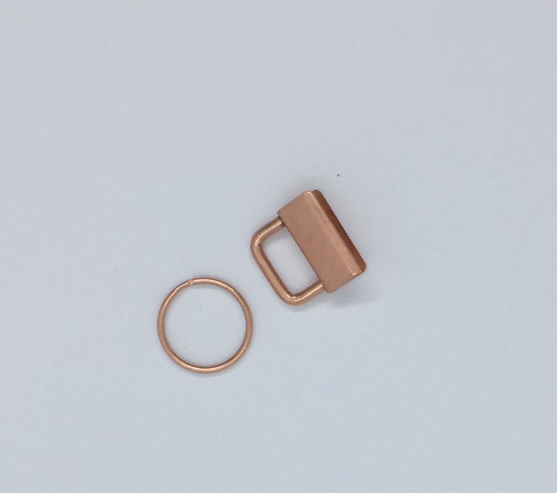 Schlüsselband Rohling 25 cm kupfer