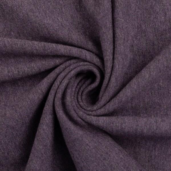 Jersey violett meliert von Fa Swafing