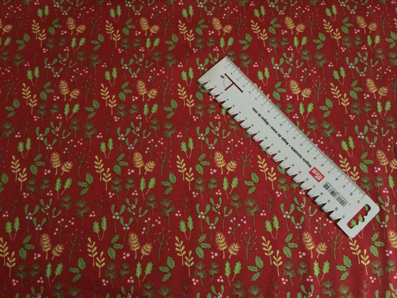 BW Webware Weihnacht rot mit Misteln