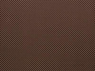 BW Webware kleine Punkte 2mm dunkelbraun