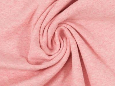 Bündchen Feinripp rosa meliert breit cm