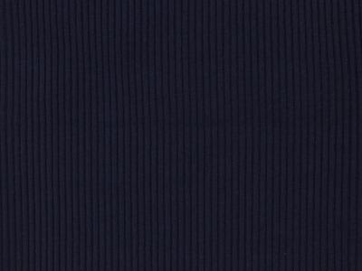 Bündchen Grobripp dunkelblau ideal für Hipster