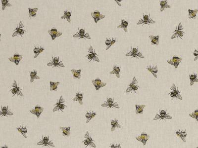 05 m Canvas Emma Leinenoptik Bienen