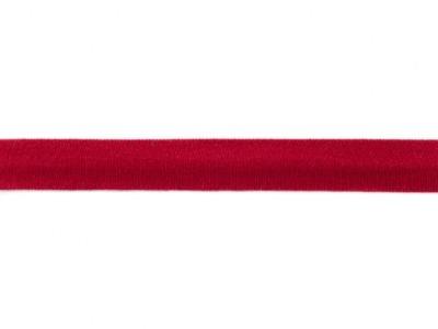 05 m Schrägband Jersey bordo