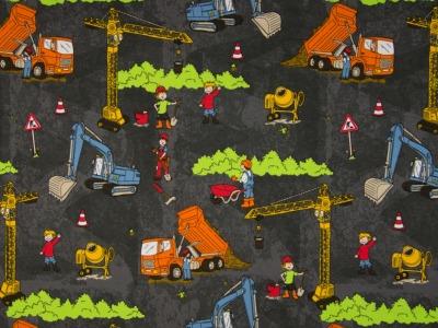 05 m Jersey Baustelle auf grauen