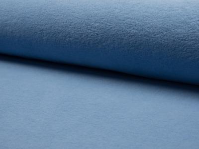05m Baumwollfleece Hellblau