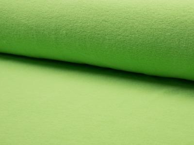 05m Baumwollfleece lindgrün