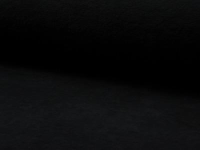 05m Baumwollfleece schwarz