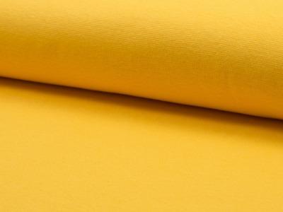 05 m Bündchen Feinripp gelb