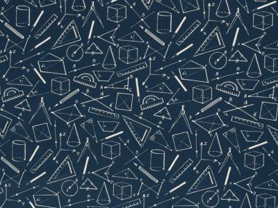 05 m BW Webware Geometrie jeansblau