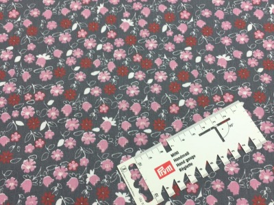05 m BW Webware Blumen auf