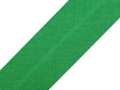 Baumwollschrägband 20 mm grün