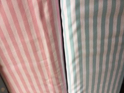 05 m Jersey Streifen rose oder