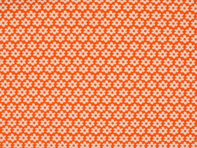 05 m BW Webware Flowers orange