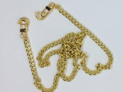 Taschenkette gold 128 cm lang 9