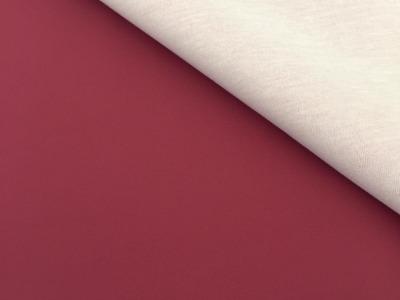 Kunstleder burgund - 2 Größen möglich