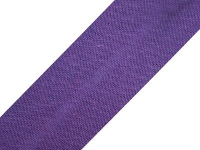 Baumwollschrägband 20 mm lila