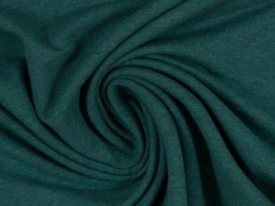 Jersey dunkelgrün meliert von Fa Swafing