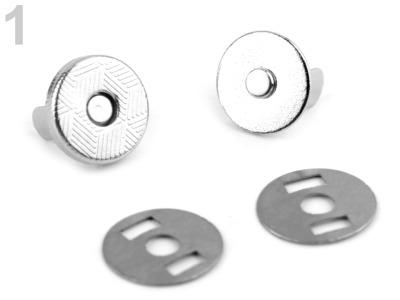 Magnetverschluss dünn 18 mm