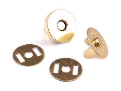 Magnetverschluss dünn 18 mm gold