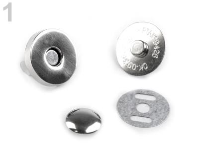 Magnetverschluss 18 mm mit 1 Nieten