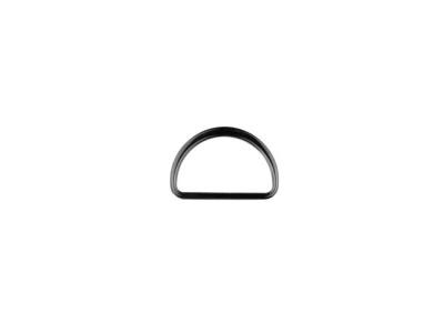 D-ringe 25 mm Fädelloch anthrazit